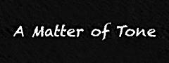 matter of tone
