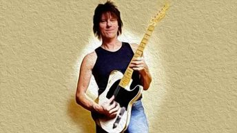 Jeff Beck's legendary telecaster